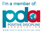 I'm a member of Positive Discipline Association